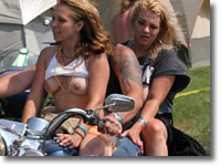 Harley Rendezvous Naked Biker Chicks